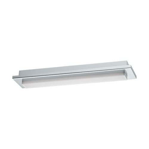 Eglo Lighting Cumbrecita 380 Chrome with White Shade Wall and Ceiling Light
