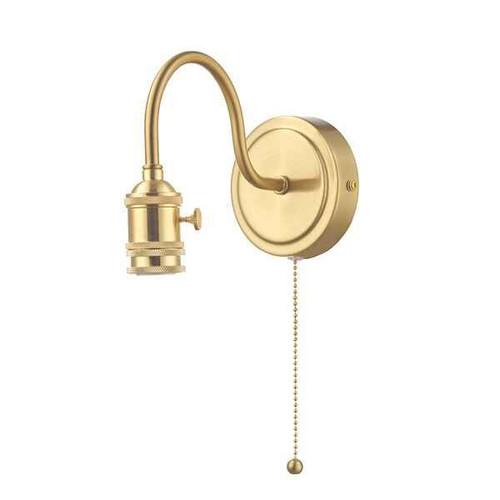 Accessory 1 Light Brass Wall Light