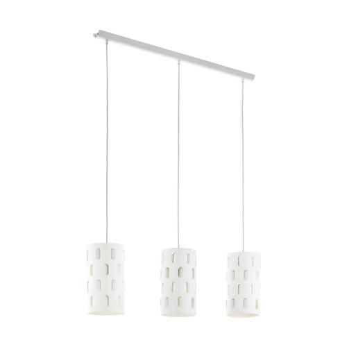 Eglo Lighting Ronsecco 3 Light White Bar Pendant Light