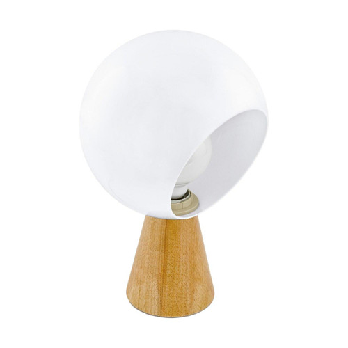 Eglo Lighting Mamblas Brown and White Table Lamp