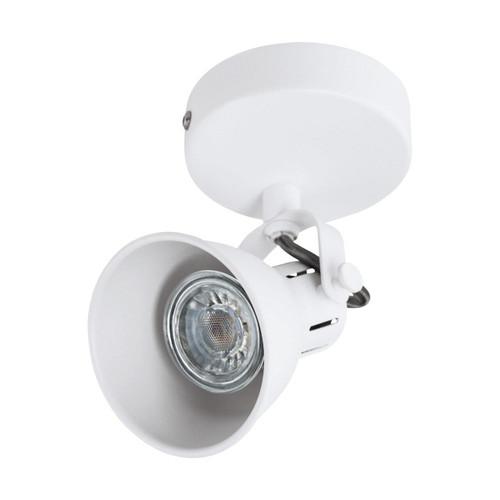 Eglo Lighting Seras 1 White Spotlight
