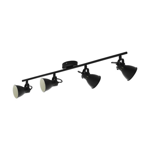 Eglo Lighting Seras 1 4 Light Black Spotlight
