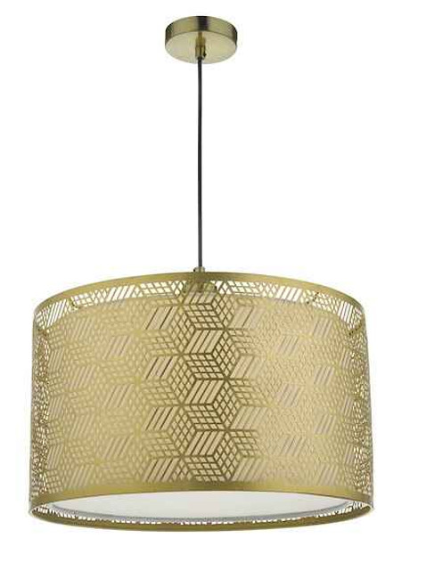 Tino Gold With Shade Easy Fit Pendant Light