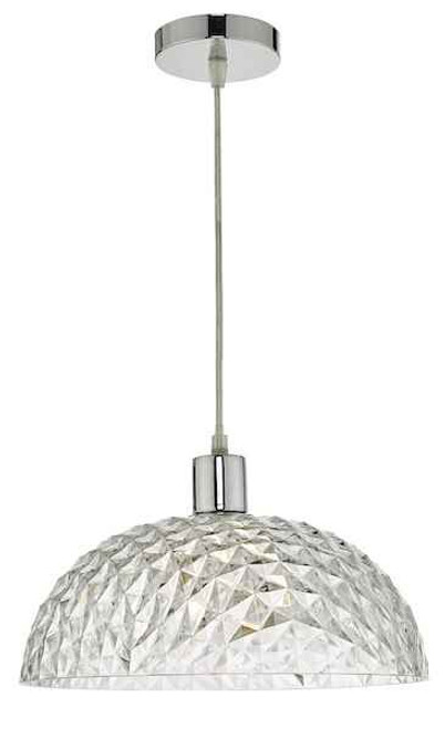 Tobin Clear Small Easy Fit Pendant Light