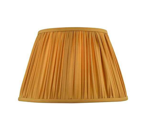 Ulyana 40cm Yellow Ochre Pleated Shade Only