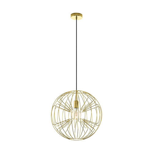 Eglo Lighting Okinzuri Brass Pendant Light