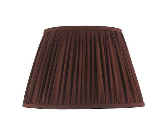 Ulyana 40cm Burgundy Pleated Shade Only