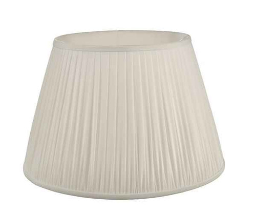 Ulyana 45cm Ivory Pleated Shade Only