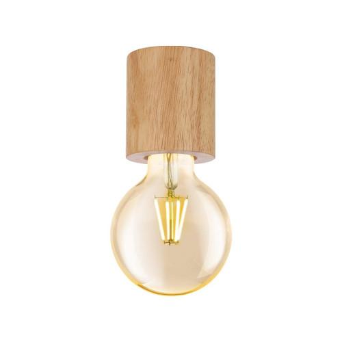 Eglo Lighting Turialdo Brown Wooden Ceiling Light