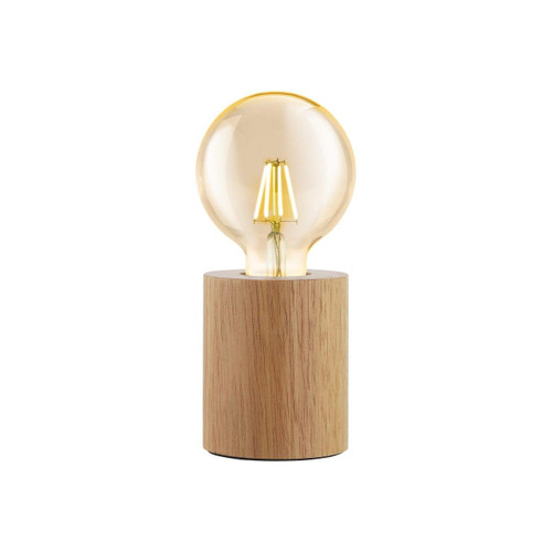 Eglo Lighting Turialdo Brown Wooden Table Lamp