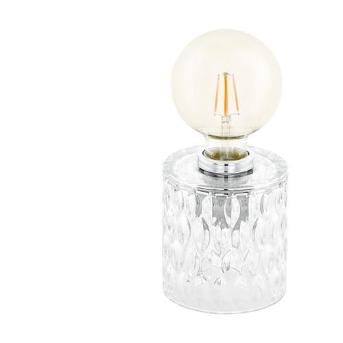 Eglo Lighting Cercamar Clear Glass Table Lamp