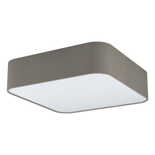 Eglo Lighting Pasteri Square 5 Light Taupe Ceiling Light