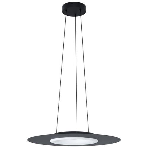 Eglo Lighting Compo Rosso-C Black with White RGB LED Pendant Light