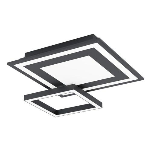 Eglo Lighting Savatarila-C Black and White Wall and Ceiling Light