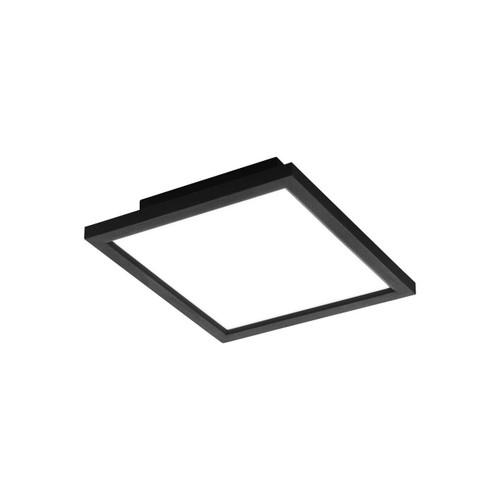 Eglo Lighting Salobrena-C 300² Black with White Shade RGB LED Ceiling Light