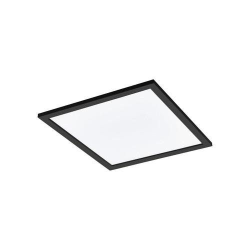 Eglo Lighting Salobrena-C 450² Black with White Shade RGB LED Ceiling Light