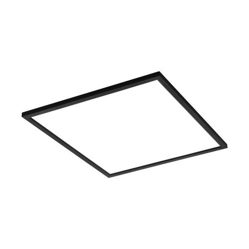Eglo Lighting Salobrena-C 595² Black with White Shade RGB LED Ceiling Light
