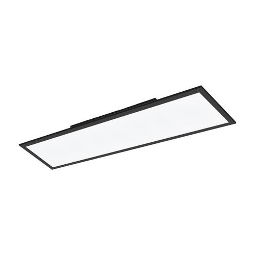 Eglo Lighting Salobrena-C 300 Black with White Shade RGB LED Ceiling Light