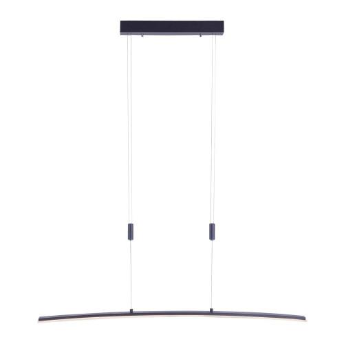 Paul Neuhaus JANINA Anthricite Dimmable Bar Pendant Light