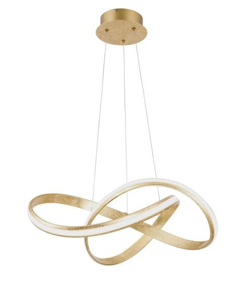 Paul Neuhaus MELINDA Gold Dimmable Pendant Light