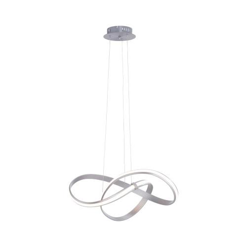 Paul Neuhaus MELINDA Silver Dimmable Pendant Light