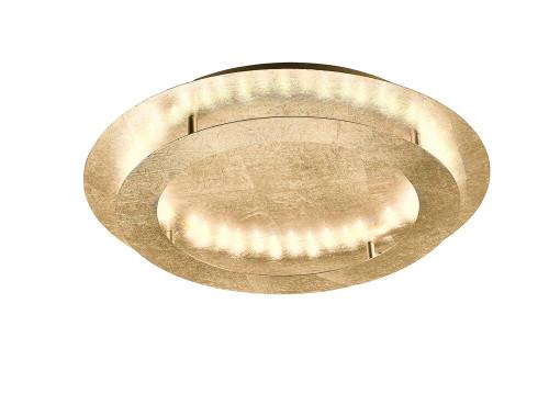 Paul Neuhaus NEVIS 4 Light Gold Leaf LED Ceiling Light