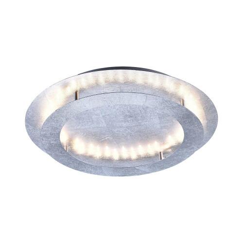 Paul Neuhaus NEVIS 4 Light Silver Leaf LED Ceiling Light