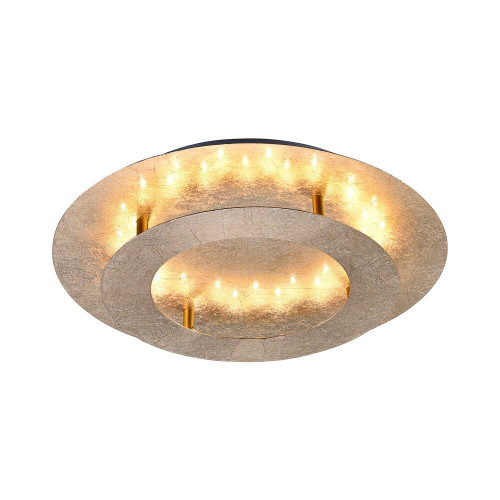 Paul Neuhaus NEVIS Gold Leaf LED Ceiling Light