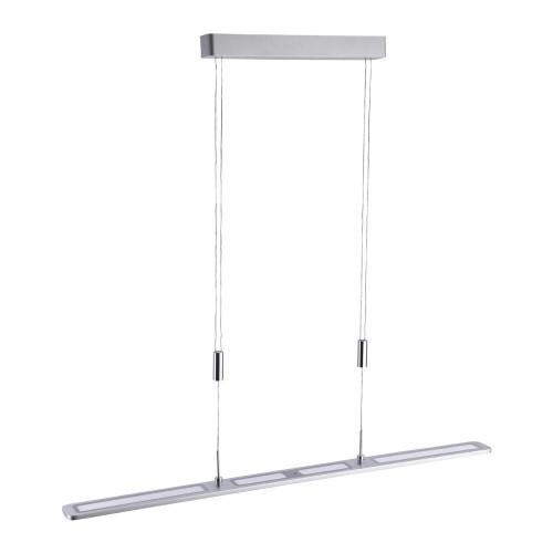 Paul Neuhaus NIKA Aluminium Dimmable Rise and Fall Bar Pendant Light