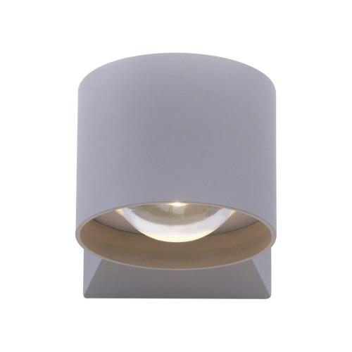 Paul Neuhaus TIMO 2 Light 120deg Silver Outdoor Wall Light