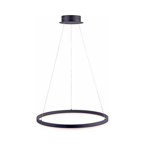 Paul Neuhaus TITUS 60cm Anthricite Dimmable Ringed Pendant Light
