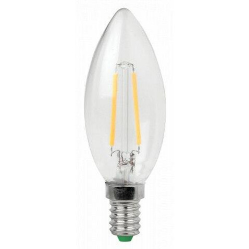 Dar Lighting 3w E14 2700k Warm White Filament LED Candle Bulb