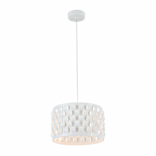 Maytoni Delicate White with Curved Straps Pendant Light