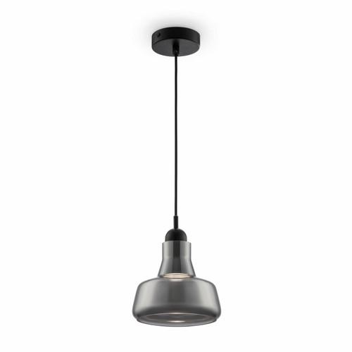 Maytoni Ola Black with Smoked Glass Pendant Light