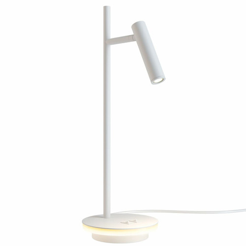 Maytoni Estudo White Dual Light Adjustable Table Lamp