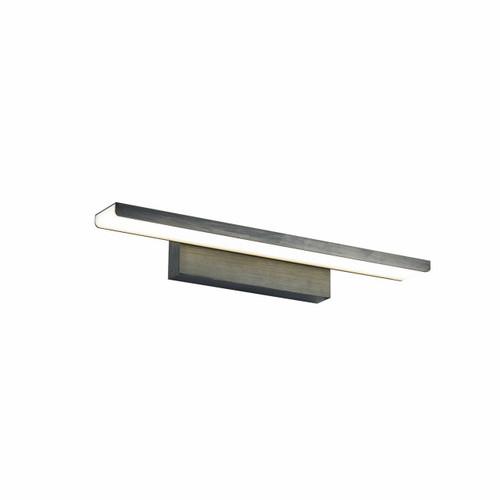 Maytoni Gleam 410mm Black Washed Linear Wall Light