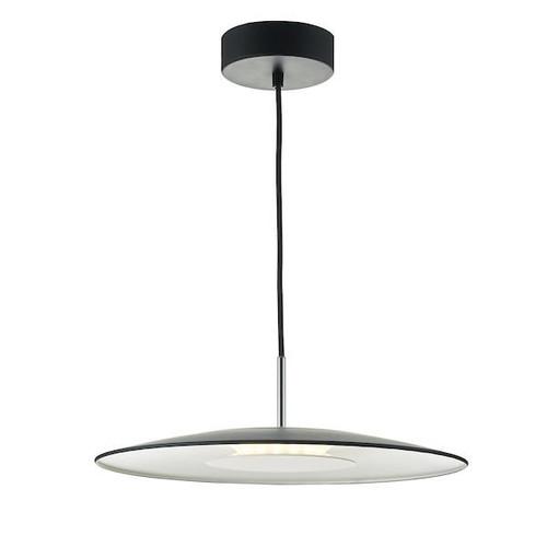 Dar Lighting Enoch 1 Light Black LED Pendant Light
