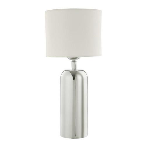 Dar Lighting Rifle Stainless Steel Short Table Lamp Base Only