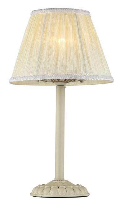Maytoni Olivia Antique White with White Linen Shade Table Lamp