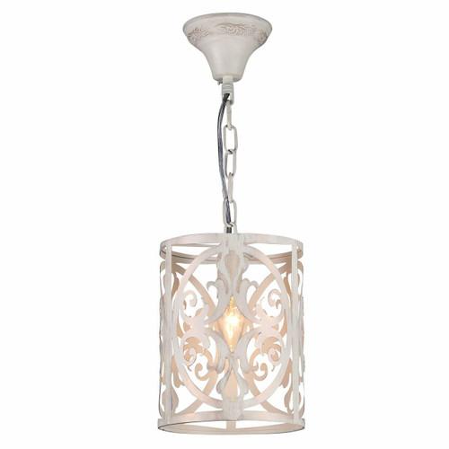 Maytoni Rustika Antique White and Gold Pendant Light