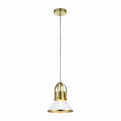 Maytoni Argo Gold with Clear Glass Shade Pendant Light