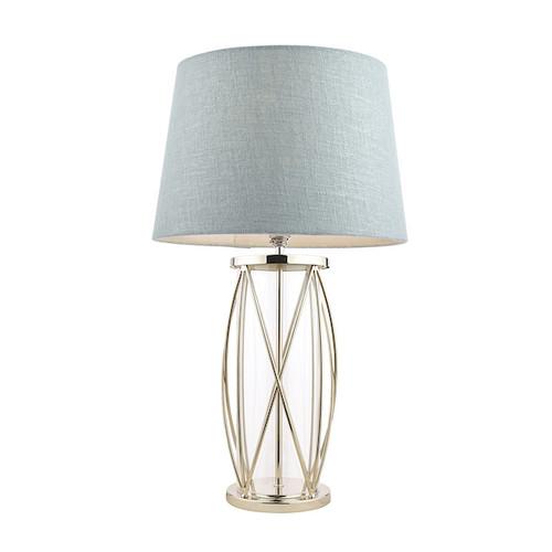 Beckworth Large Polished Nickel Table Lamp Base Only