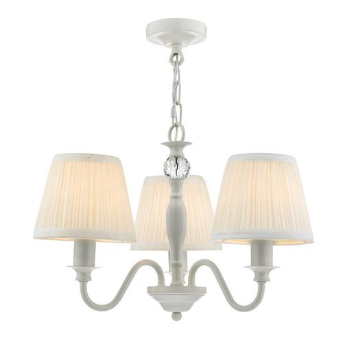Ellis 3 Light Grey with Shades Pendant Light