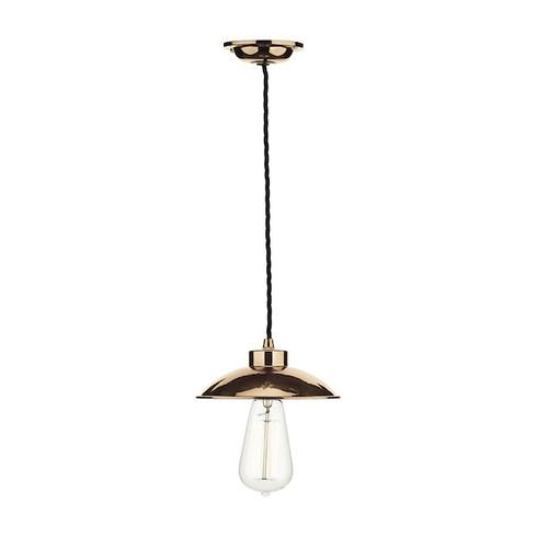 Dallas Copper Single Pendant Light