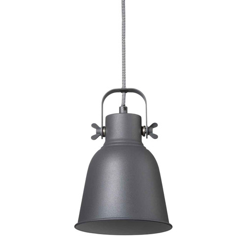 Adrian 16 Black Adjustable Pendant Light