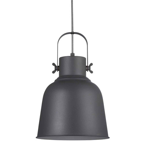 Adrian 25 Black Adjustable Pendant Light