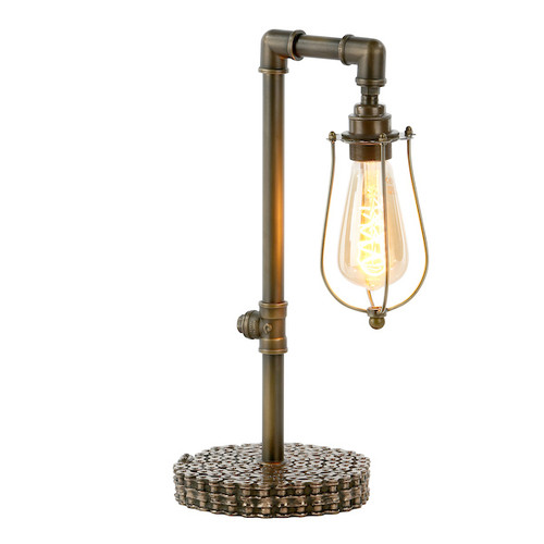 Loxley Bronze with Cage Table Lamp