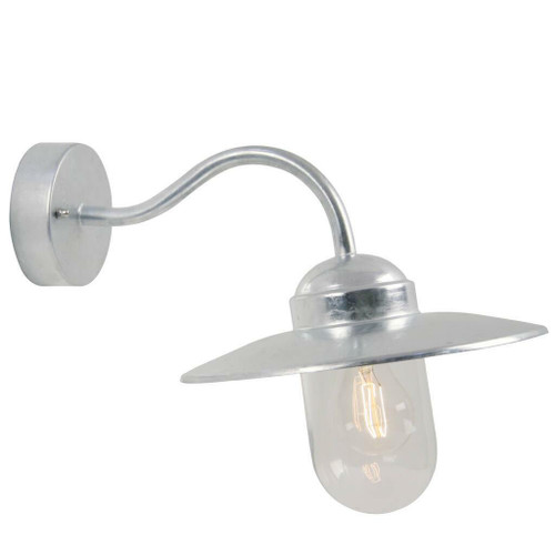 Nordlux Luxembourg Galvanized IP54 Wall Light