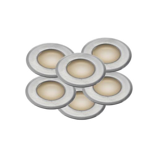 Nordlux Une 6-Kit Stainless Steel IP67 Spotlight