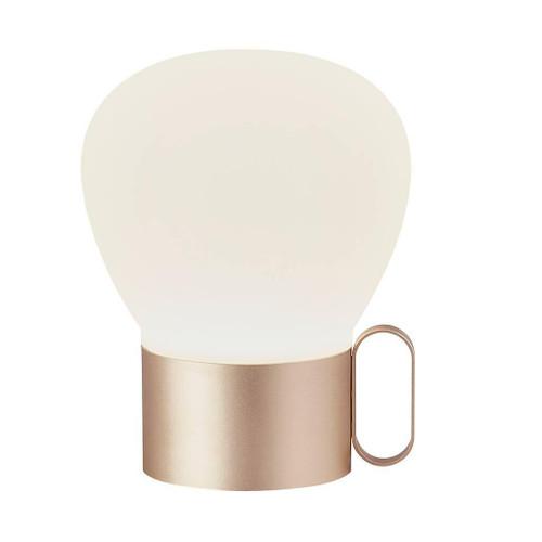 DFTP Nuru Rose Gold Portable Table Lamp